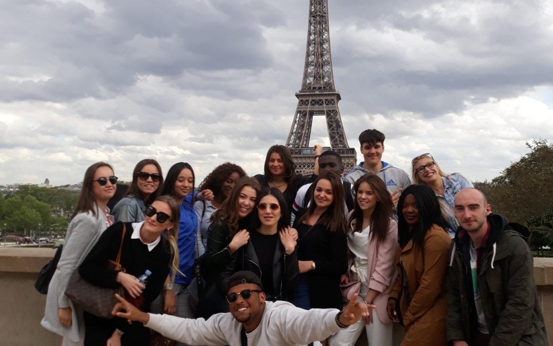 6TSO trok naar Parijs